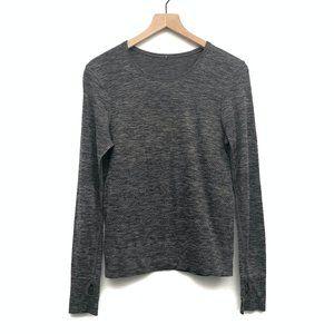 Lululemon Grey Long Sleeve Workout Top - No Size